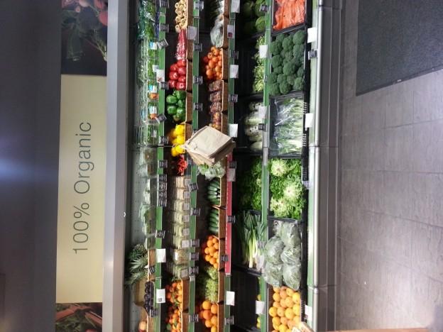 100% organic food