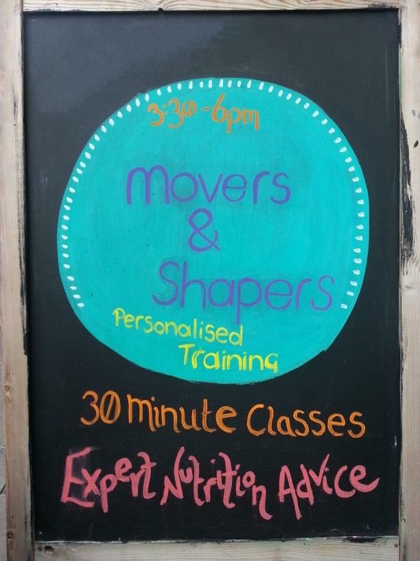 Movers & Shapers board