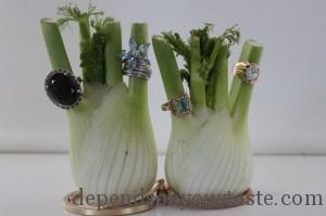 green fingers ,Vogue look